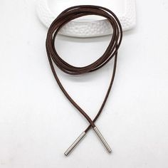 Minimal Kylie Bowknot Rope Necklace