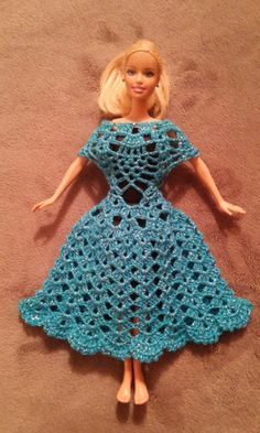 Vestido Para Muñeca Barbie