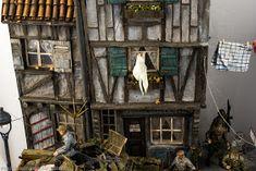 Der rote Drache by Michael Mandau · Putty&Paint Photo Equipment, Miniature Houses, Scale Models, Miniatures, House Styles, Canvas, Ww2, Jagdpanzer Iv, Painting