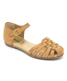 This Tan Vaquetta Appolina Sandal is perfect! #zulilyfinds