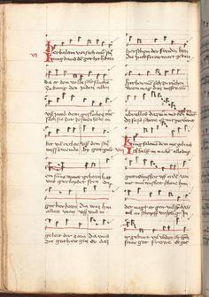 Kolmarer Liederhandschrift Rheinfranken (Speyer?), um 1460 Cgm 4997  Folio 96