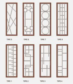 Window Grill Design Modern, Grill Door Design, Door Gate Design, Railing Design, Window Design, Door Grill, Window Bars, Metal Grill, Modern Windows