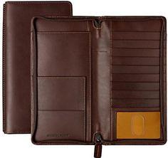 Johnston & Murphy Zip Traveler Wallet: US$98.