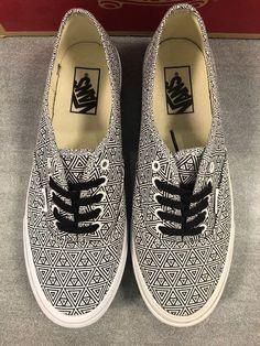 New With Box Vans Authentic Slim Shoes Mens Size 8 Womens Size 9.5  fashion b3de9940e