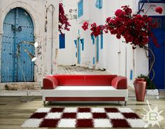 Fototapeta Uliczka w Tunezji