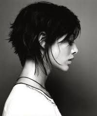 Short and asymmetrical. Just the way I like it!