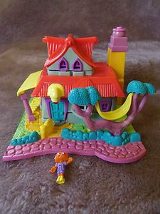 Vintage Polly Pocket Light-up Kitty House - Yep had this Polly Pocket too!!