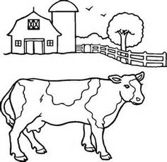 Free Farm Animals Coloring Pages For Kids  Coloring Pages