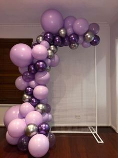 Organic Garland $90 per metre Purple Birthday Decorations, 18th Birthday Party Themes, Backyard Birthday Parties, Butterfly Birthday Party, Balloon Decorations Party, Purple Balloons, Instagram, Hippie Birthday Party, 14th Birthday