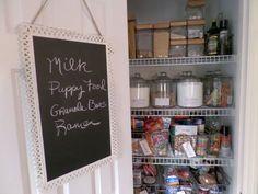 Chocolate and Sunshine/Kitchen Pantry Organization