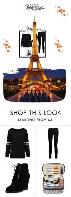 """""""From Head to Toe"""" by amina-33 ❤ liked on Polyvore featuring J Brand and MICHAEL Michael Kors"""