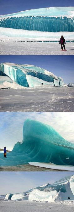 Frozen wave in Antarctica [ Waterbabiesbikini.com ] #wave #bikini #elegance