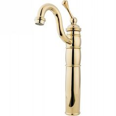 Elements of Design EB1422BL Baltimore Polished Brass One Handle Vessel Bathroom Faucets |eFaucets.com
