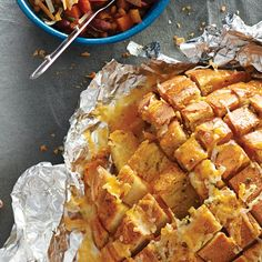 Cheesy Pull Apart Bread Make Ahead For Camping