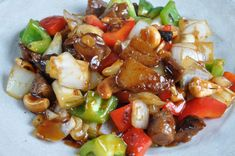 Kung Pao Seitan- Oh my this looks delicious!