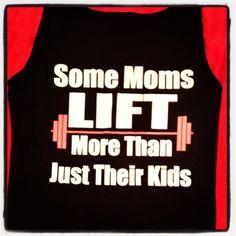 TEE at: http://hopenagy.com/motivatehopestrength___hope_nagy/Tanks&Tees.html #fitness for moms #moms fitness #healthy moms #new Moms #baby #fitness #crossfit #lift weights #women's health #moms bodybuilding #weight lifting for moms #motivation