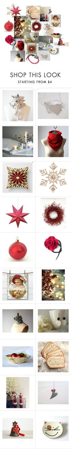 """""""Merry Christmas"""" by inspiredbyten ❤ liked on Polyvore featuring John Lewis"""