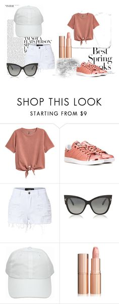 """""""HEY"""" by ariya1 on Polyvore featuring H&M, adidas Originals, LE3NO and Tom Ford"""