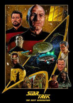 Star Trek Ii, Star Trek Show, Star Trek Posters, Sci Fi Tv Series, The Next, Famous People, Nerd, Seasons, Stars