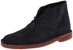 Clarks Men's Desert Chukka Boot,Navy Suede Red Sole,10.5 M US - http://authenticboots.com/clarks-mens-desert-chukka-bootnavy-suede-red-sole10-5-m-us/