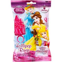 Disney Princess Candy Rings 4ct - Party City