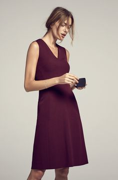 The Annie | Everyone loves an A-line, one of the most flattering silhouettes around. (Shown in Claret)
