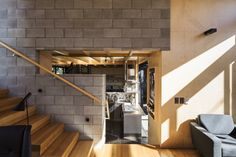Masonry Block | Timber  The Boatsheds | ArchitectureAU