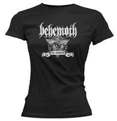 Behemoth Satanist Eye Ladies T-shirt for $19.95  http://www.jsrdirect.com/merch/behemoth/satanist-eye-ladies-t-shirt-behemoth  #behemoth #satanist #satanisteye #girly #ladiestees #ladiestshirts #metalladies #metaltees #bandtshirts #metaltshirts #bandtees