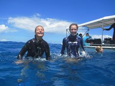 Happiness is scuba diving in the Seychelles & making a difference to the ecosystems at the same time :) #gvi #volunteerabroad #marineconservation