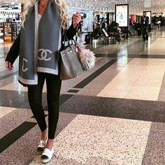 Chanel espadrilles - Chanel espadrilles Source by annkathrina - Chanel Espadrilles Outfit, Chanel Scarf, Black Espadrilles, Chanel Outfit, Chanel Sneakers, Indie Fashion, Streetwear Fashion, Daily Fashion, Fashion News