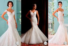 Something Fit and Falre - Just Stunning: David Tutera Wedding Dresses…