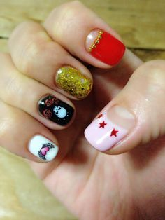 Punk rock nails