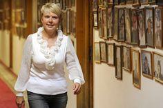 "Evgeniya Chirikova, leader of the ""Save Khimki Forrest"" environmental movement, has announced plans to run for mayor.. Source: ITAR-TASS."