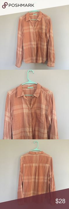Maurices Plaid Flannel Button-Up Top Maurices Plaid Flannel Button-Up Top | In good condition - No stains/rips | Size medium | Maurices Tops Button Down Shirts