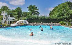 Die Wellen kommen ... Im Ferienpark Buitenhof de Leistert im schönen #Limburg #ferienhaus #ferienpark #roermond #leistert #reise #travel #holland #niederlande