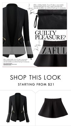 """www.zaful.com/?lkid=7011"" by lucky-1990 ❤ liked on Polyvore featuring women's clothing, women, female, woman, misses, juniors and zaful"
