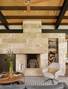 Modern Ranch by Poet Interiors