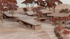 Zumthor: Peter Zumthor's model of his Secular Retreat for Living Architecture
