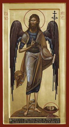 Byzantine Icons, Byzantine Art, Faith Of Our Fathers, Saint Jean Baptiste, Pictures Of Jesus Christ, Masonic Symbols, Archangel Michael, Art Base, Mosaics