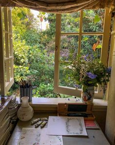 Home Interior Design — A cozy spot to work on some art - All About Decoration Home Interior Design, Interior And Exterior, Aesthetic Rooms, Aesthetic Plants, My New Room, Dream Rooms, Dream Bedroom, Decoration, My Dream Home