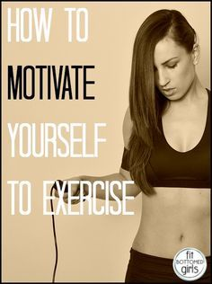 Can't seem to get motivated to work out? Do this.