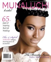 Print Edition 2 - Beauty Issue http://beautifulbrownbride.blogspot.com/