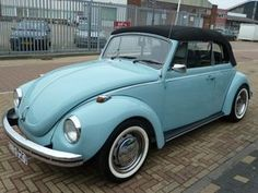 When I move to California, I am buying an old bug. Preferably a convertible.