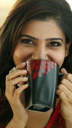 Telugu cinema, Samantha Prabhu, smile, 720x1280 wallpaper