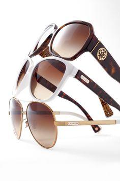 Accessorize in style #Belk #COACH #Sunglasses