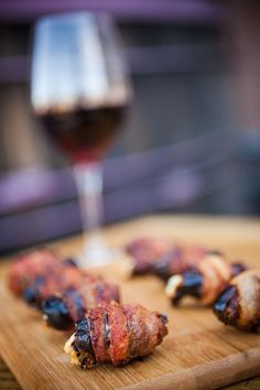 The best bacon-wrapped dates! The perfect appetizer for your next party.