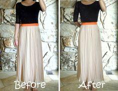 Alter maxi dress