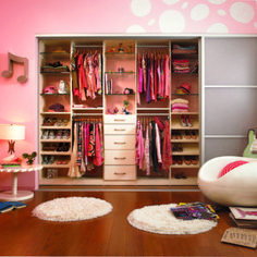 Ideas. Teenage Girls Walk In Closet Come With Burst Sliding Closet Door Ideas And Wooden Hanging Racks For Dresser Plus Shoes Wooden Shelves In Small Tone Together With In Wall Glass Shelves Style And Also Rounded Flooring Mats Ideas. Glorious Walk In Closet Furnishing Ideas