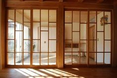 Arched Doors, Windows And Doors, Washitsu, Interior And Exterior, Interior Design, Japanese Interior, House Doors, Space Architecture, Room Tour