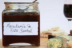 Macadamia and date sambal recipe, NZ Herald – This macadamia and date sambal is an awesome accompaniment to roast venison and works well with vegetarian dishes tooampnbsp - Eat Well (formerly Bite) Raw Food Recipes, Gourmet Recipes, Healthy Recipes, Sambal Recipe, Harvest Season, Edible Gifts, Easy Cooking, Chutney, Vegan Gluten Free